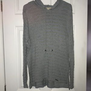 Gray striped Michael Kors sweatshirt